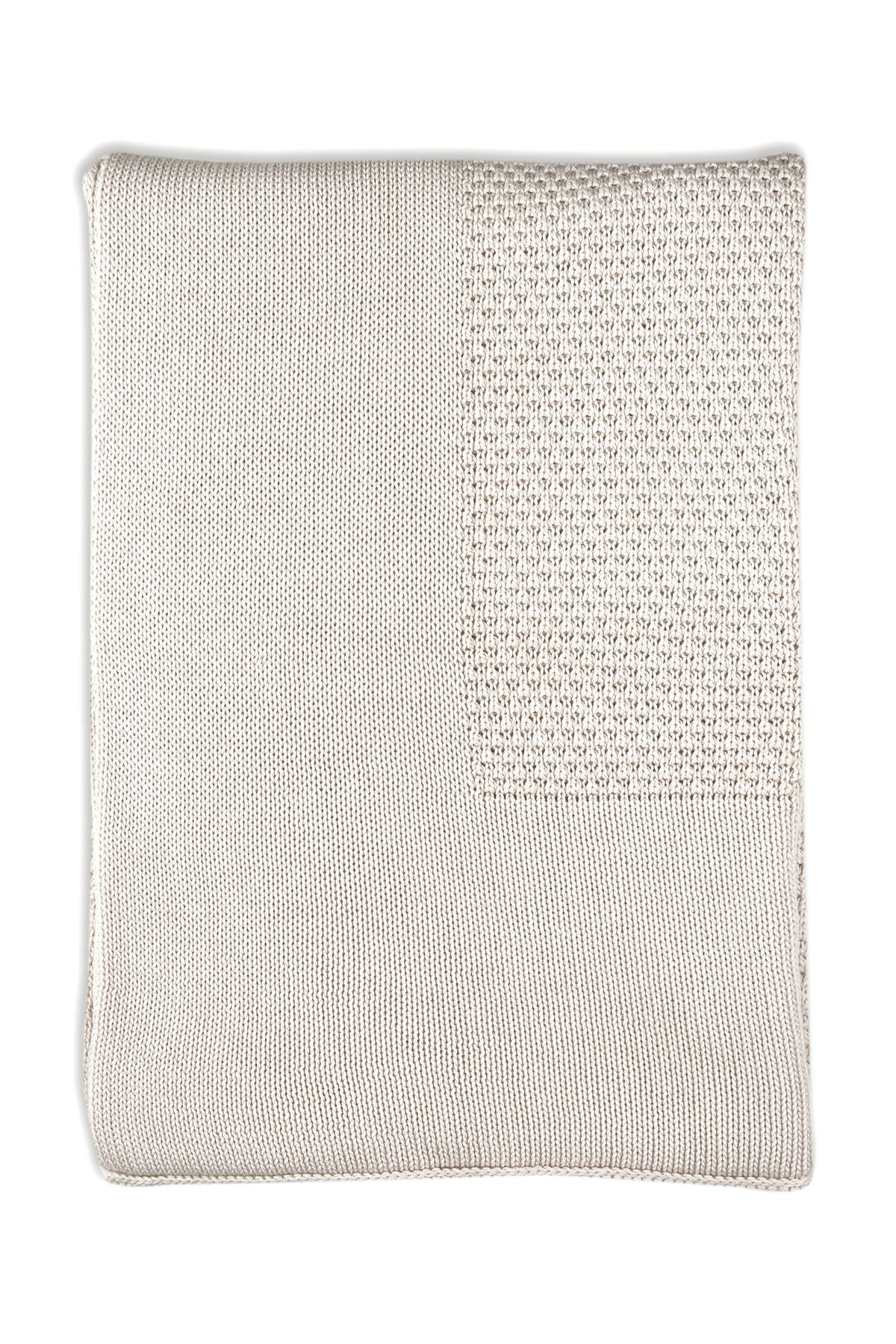 Little Bamboo Textured Blanket - Oatmeal(Silver)