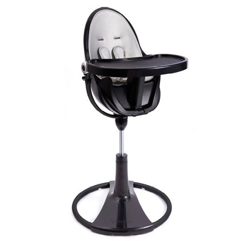 EX-Display: BLOOM Fresco Chrome Highchair 4 in 1 Noir Frame Only (1)