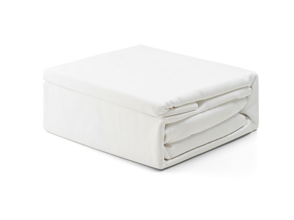 Save Our Sleep Queen Bamboo Sheets - White Flat sheet ONLY
