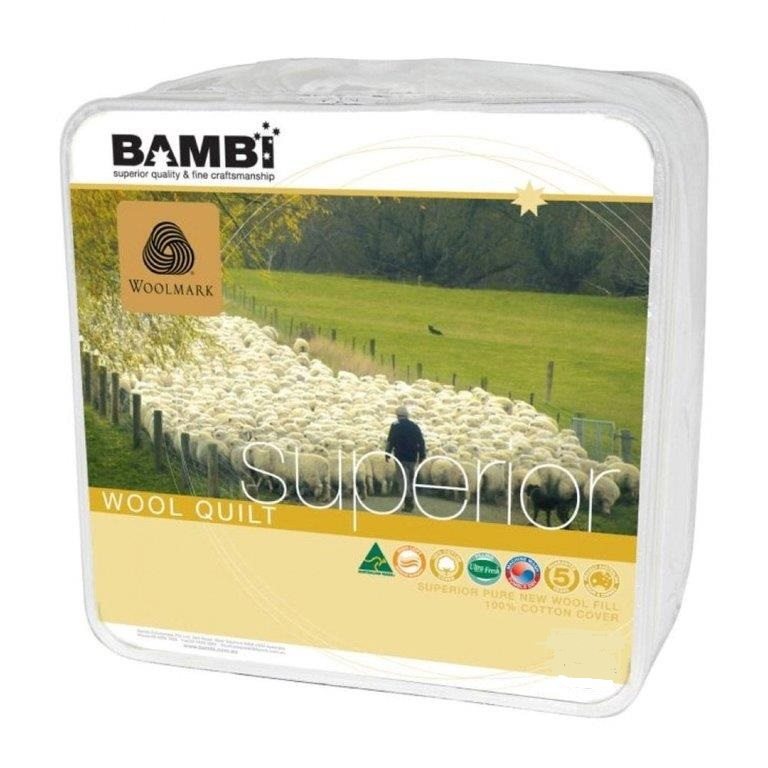 Bambi Superior High Loft Quilt - 430 gsm Australian Made