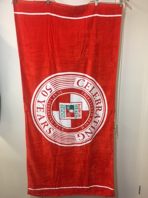 Limited Edition-  Club 50th Anniversary Towel