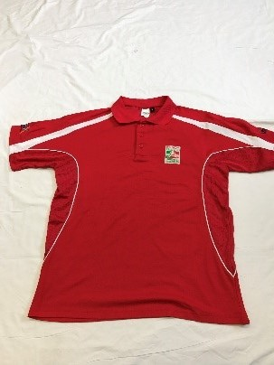 Child - Red Logo Polo