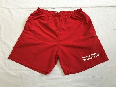 Adult - Red Shorts