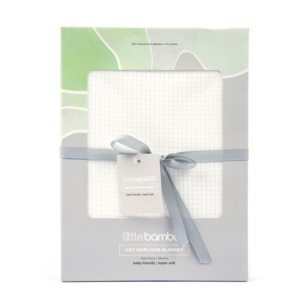 Little Bamboo Cot Bamboo Blanket