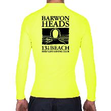 1. Compulsory Nipper Hi-Vis Rash Shirt - Long Sleeve