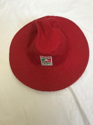 NEW - Club Red Wide Brim Hat