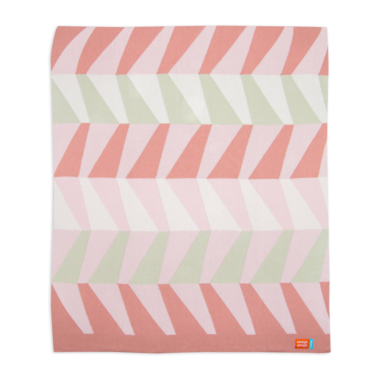 Weegoamigo - Bestee Knit Blankets Bamboo/Cotton - Florence