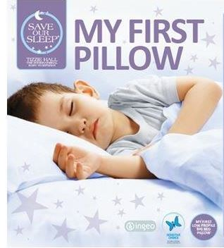 Save Our Sleep, My First Pillow (2.5 years + with removable zip cover)
