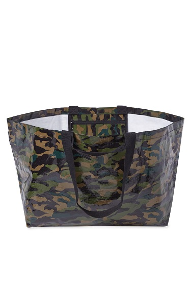 Project Ten - The Weekender - Oversize Tote - Camo