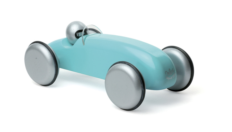 Vilac - Blue Speedster Wooden Toy Car