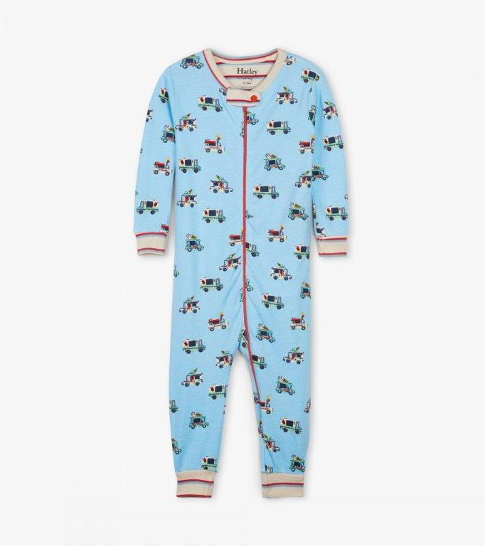 Hatley Babygro Footless - Ice Cream Trucks