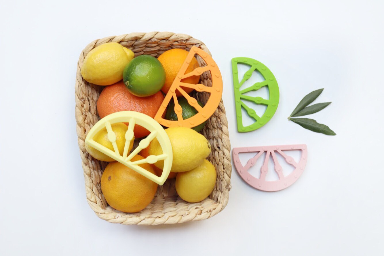Little Woods - Citrus Silicone Teether