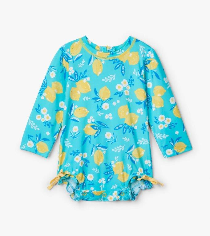 Hatley Rashguard One-Piece - Cute Lemons