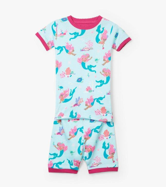 Hatley Short PJs - Mermaid Tales