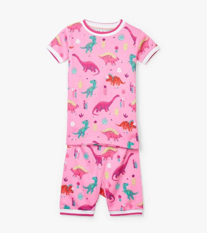 Hatley Short PJs - Darling Dinos