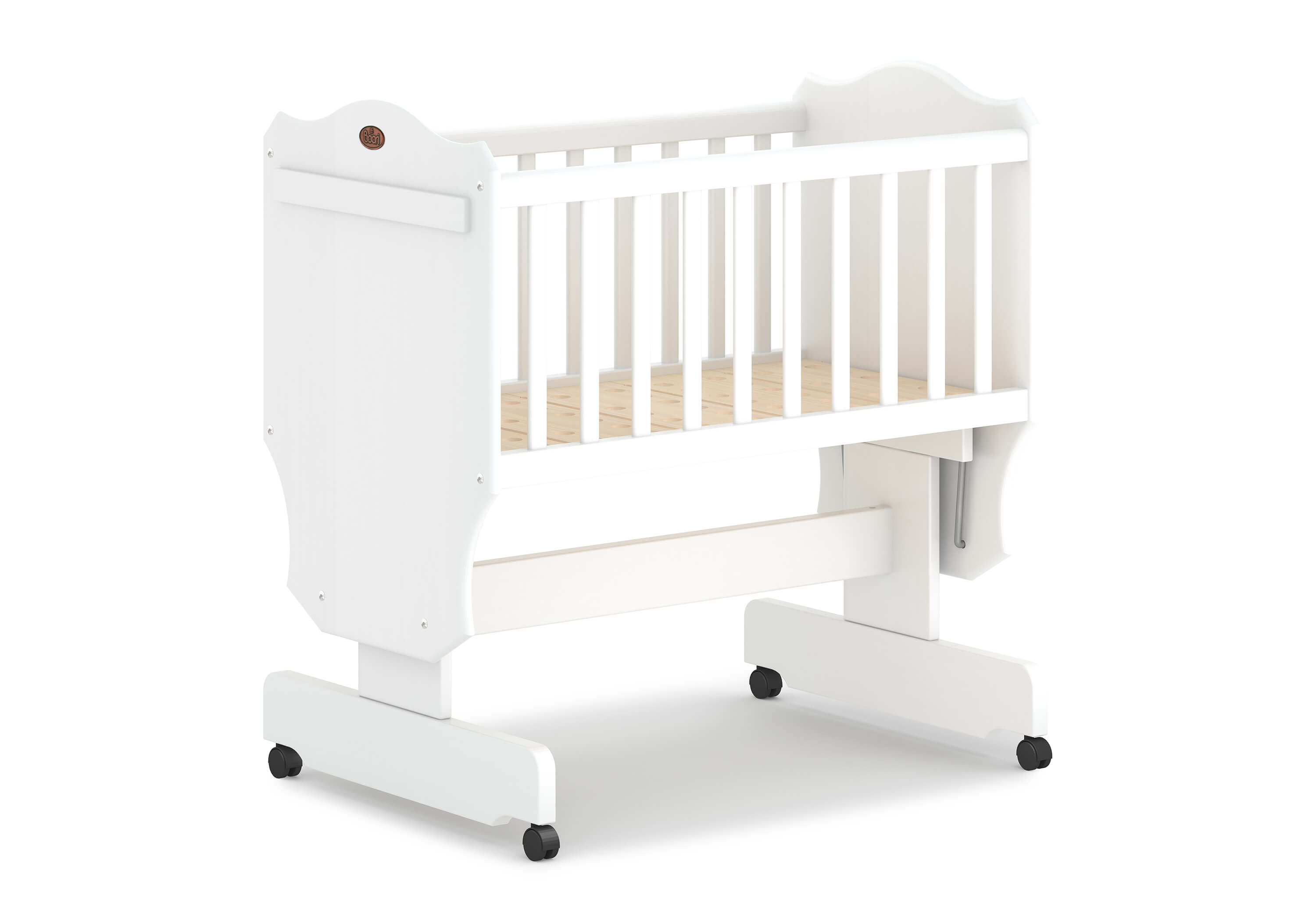 Save Our Sleep Mattress (Organic cover)* Pocket springs to fit Boori Rocking Cradle and Bloom Mini Crib