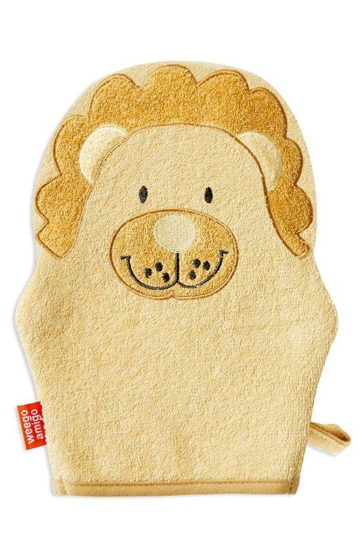 Weegoamigo Colourplay Bath Mitt - Lion
