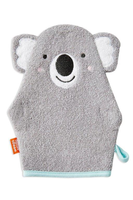 Weegoamigo Colourplay Bath Mitt - Koala