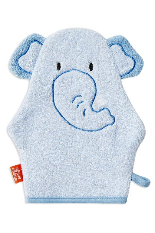 Weegoamigo Colourplay Bath Mitt - Elephant