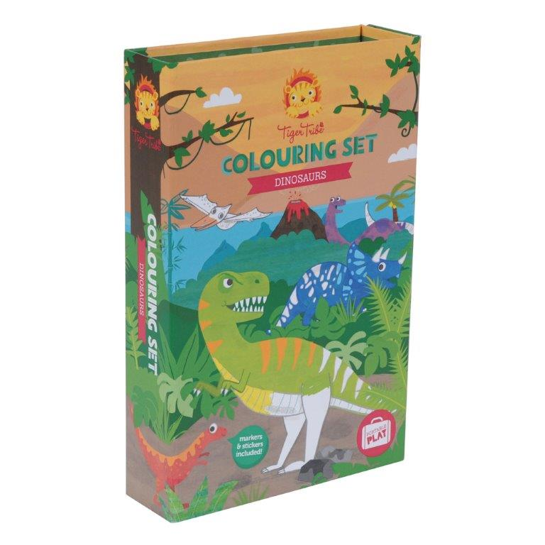 Tiger Tribe - Colouring Set - Dinosuars