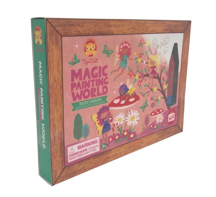 Tiger Tribe - Magic Painting World - Fairy Garden