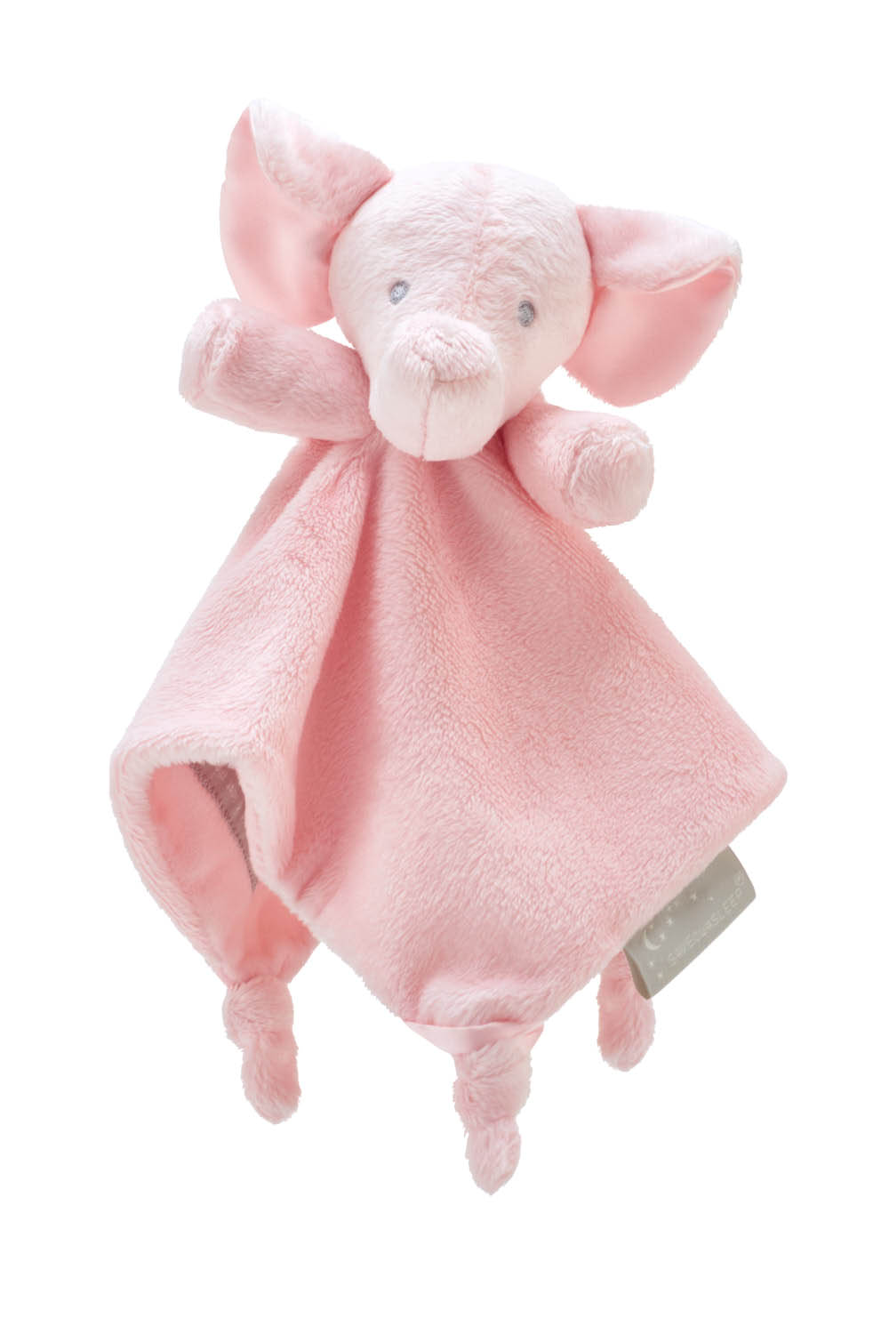 (Pre Order Due SEPT 23rd) Save Our Sleep Pink Elzzie Elephant Comforter