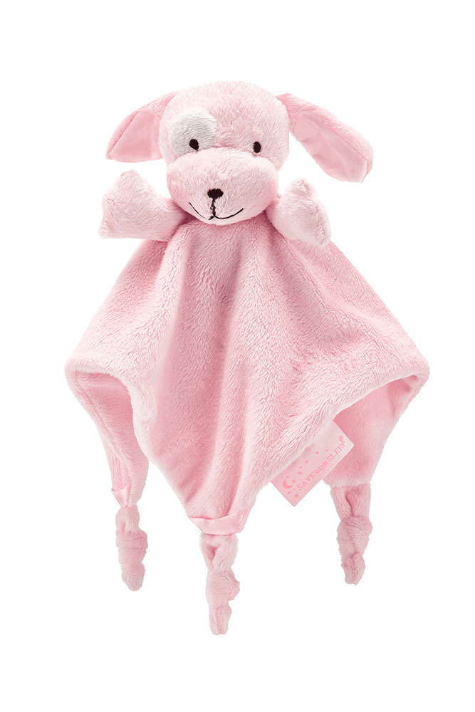(Pre Order Due SEPT 23rd) Save Our Sleep Dizzie Dog Pink Comforter