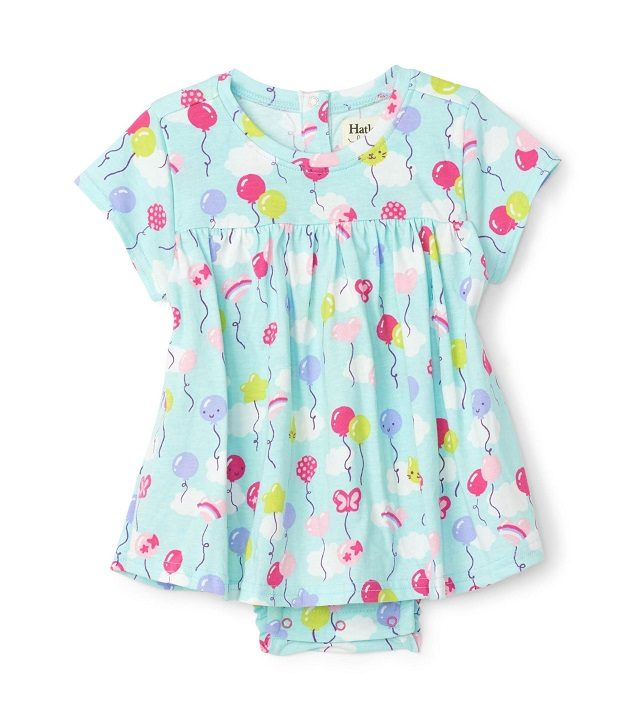 Hatley Party Balloons Baby One-Piece Dress